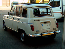 Restauration Renault 4